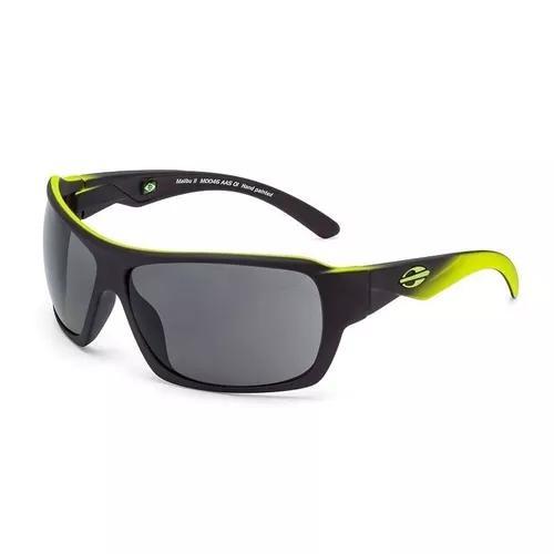 Oculos Solar Mormaii Malibu 2 M0046aas01 Preto Amarelo Fosco