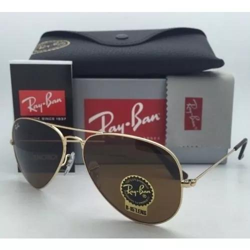 Ray ban aviador original rb3026 rb3025 fotos reais 60%off