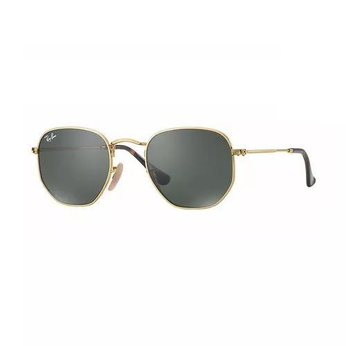 3bde96802 Ray ban rb 3548nl 001 hexagonal óculos de sol tam. 5,1cm