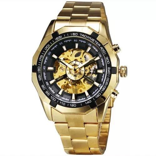 Relógio automático forsining tm340 promoção de pascoa