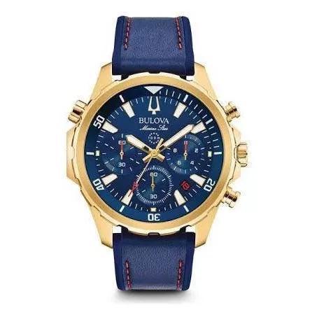 Relógio bulova marine star chronograph 97b168