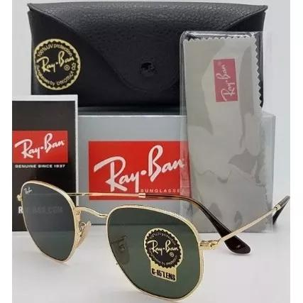 Culos ray ban rb3548 hexagonal 51mm pequeno 54mm grande