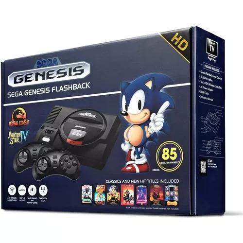 Console sega genesis flashback hd classic novo original