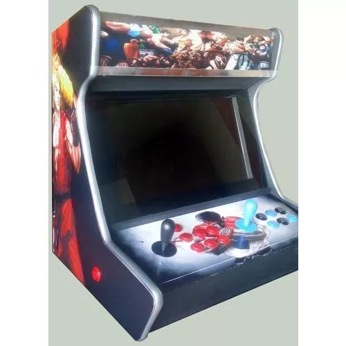 Fliperama bartop street fighter 12000 jogos arcade retro
