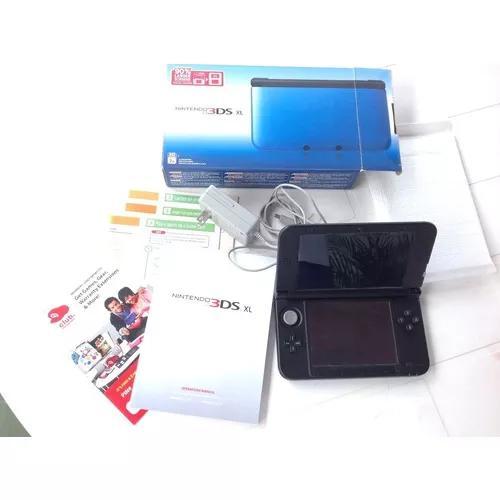 Nintendo 3ds xl - console + case de brinde