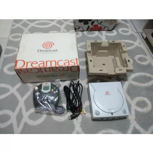 Sega dreamcast japones com manual bloqueado