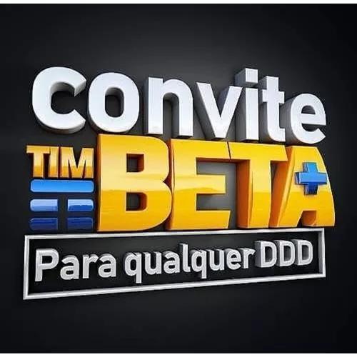 Convites Tim-beta