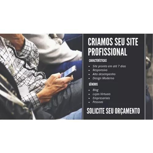 Criamos seu site profissional