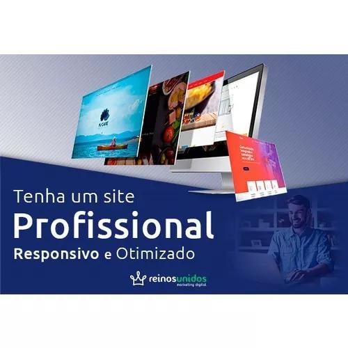 Criação de site profissional gerenciável