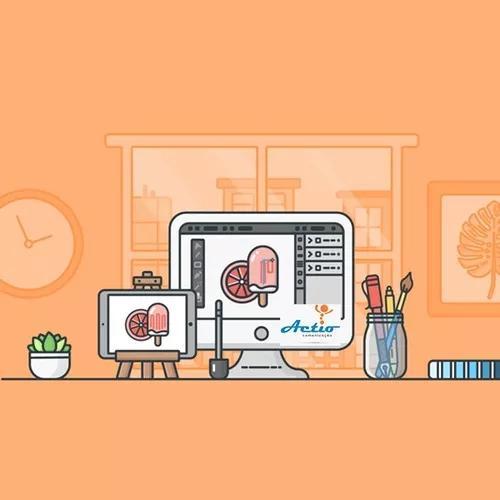 Criação de web site completo responsivo com e-mail
