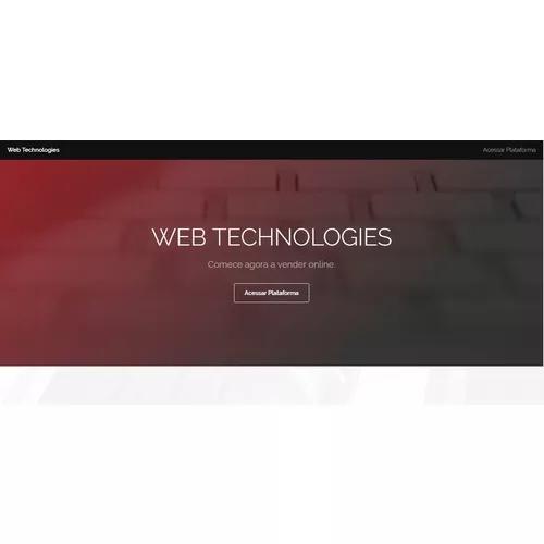 Criação de websites, lojas virtuais, e sist