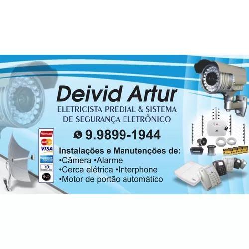 Estalação e manutenção de segurança eletrônica e
