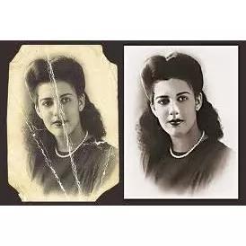 Estauração e colorização de fotos antigas -restaurar