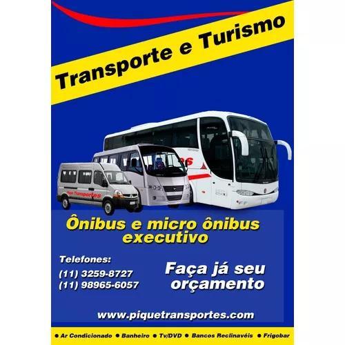 Locadora de ônibus, vans e micro ônibus