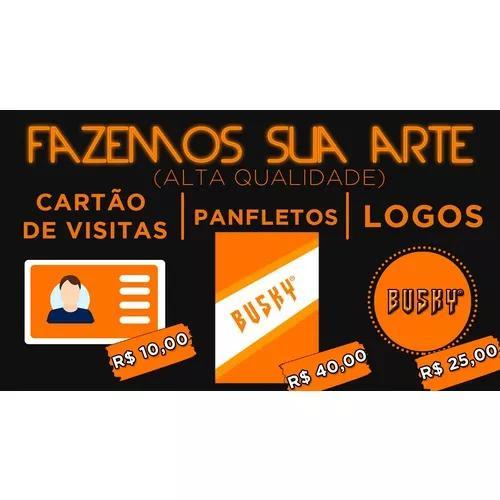 Logo logotipo logomarca cartões de visita panfletos