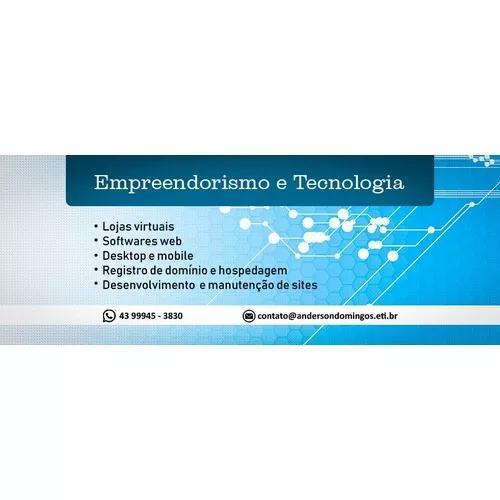 Lojas virtuais sites softwares web desktop e mobile