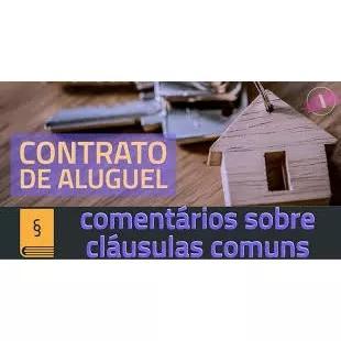 Modelo contrato de aluguel imóvel