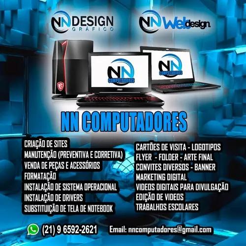 Nncomputadores - design grafico - web design