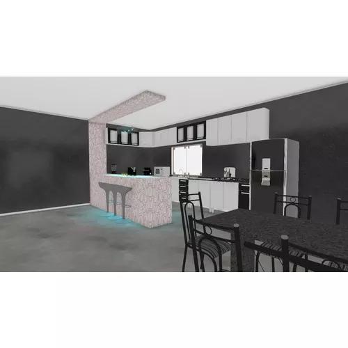 Projeto de cozinha e casas