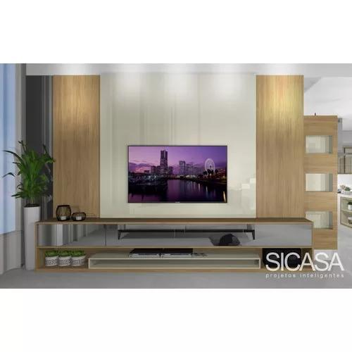 Projeto de decoração de interiores e móveis planejados
