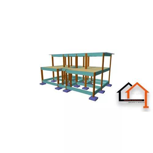Projeto estrutural r$3,90m²
