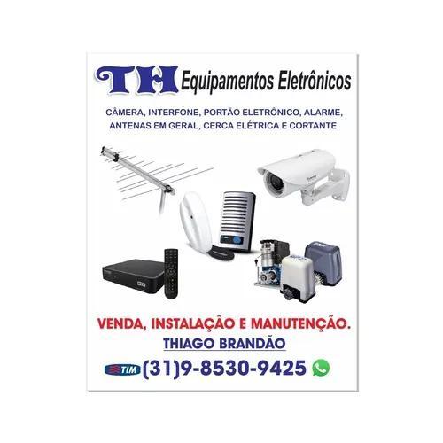 Segurança eletronica e instalaçao de antenas