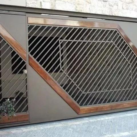 Serralheira - portões grades portas de aço escadas