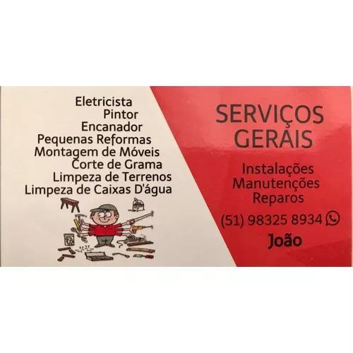 Serviços gerais oferecidos