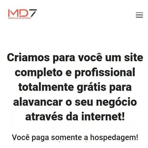 Site profissional grátis