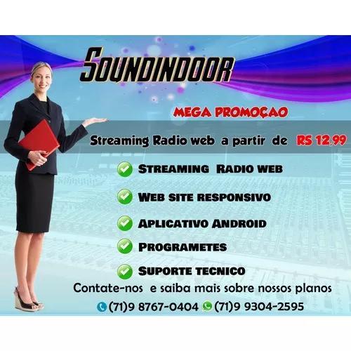 Streaming radio web