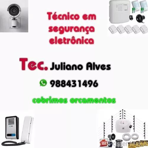 Técnico de segurança eletrônica 98843-1496