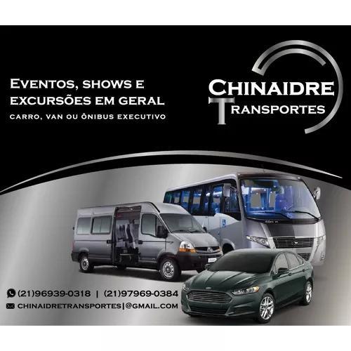 Transporte executivo (carro, van e ônibus) e fretes