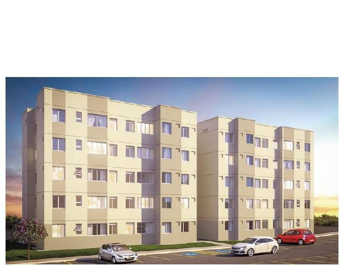 Apartamento 2 qtos financiado pela caixa econômica