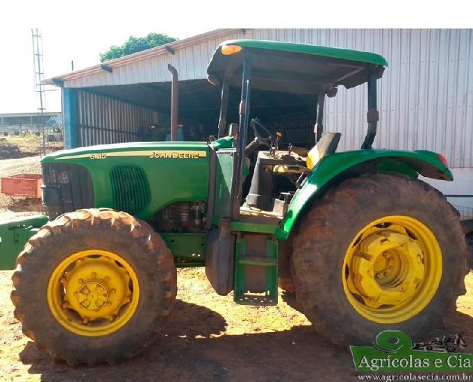 Trator john deere 6415 4x4 (4.500 horas - power quad!)