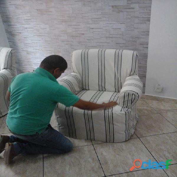 Capas de sofa e de cadeiras sob medida gomes