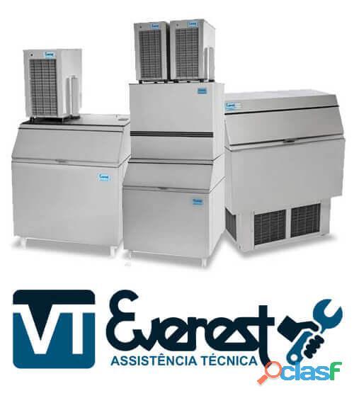 Everest assistência especializada em máquinas de gelo cubo e escama