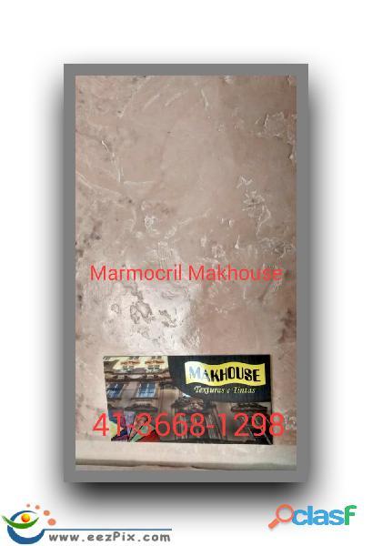 Grafiato e textura makhouse