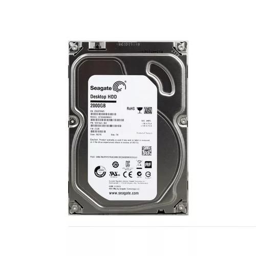Hd 3.5 desktop's seagate barracuda 2tb - novo com garantia