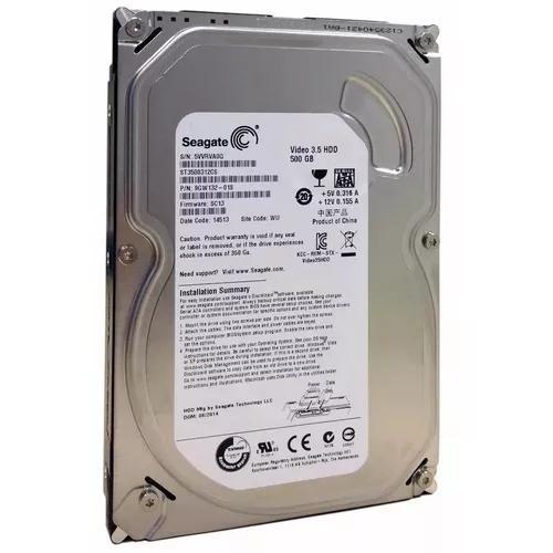 Hd 500 Gb Dvr Luxvision 4 - 8 - 16 Ch - Seagate 3,5 5900 Rpm