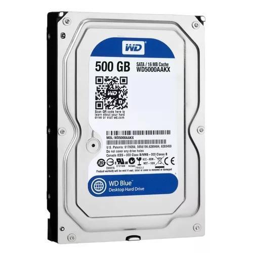 Hd 500 gb sata 6gb/s western digital com nota fiscal