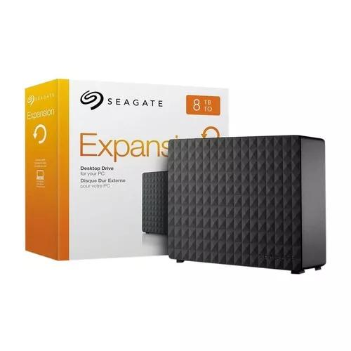 Hd externo 8tb - 8000gb usb 3.0 seagate expasion p/entrega