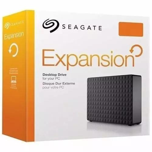 Hd externo 8tb seagate expansion 3.5 usb 3.0
