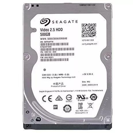 Hd notebook 500gb slim seagate vídeo sata3 - xbox ps3 -