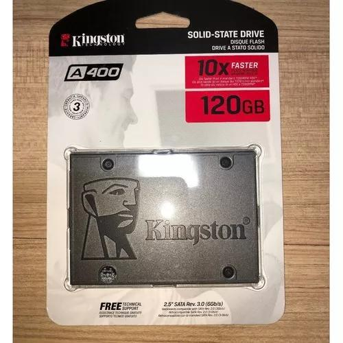 Hd ssd 120gb sata 3 kingston a400 curitiba