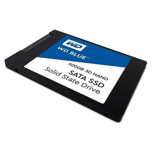 Hd ssd 500gb western digital blue 3d nand wds500g2b0a 560mbs