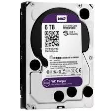 Hd wd purple 6tb - wd60purz dvr intelbras