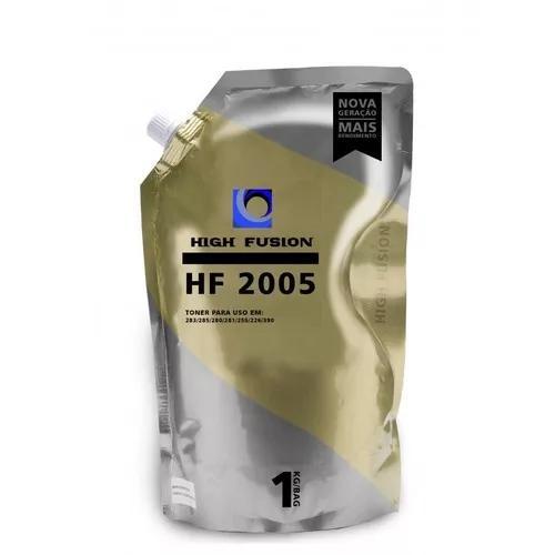 Pó de toner high fusion hf2005 ce435 ce436 ce278a ce285 1kg