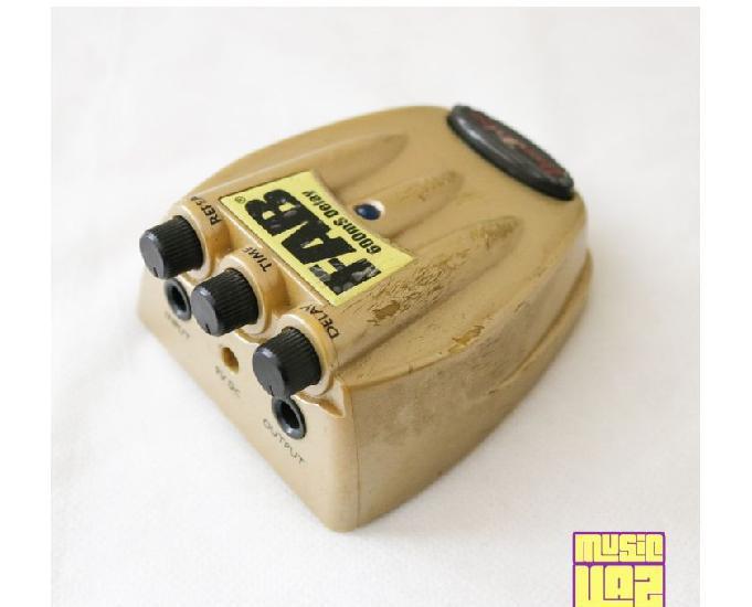 Pedal Delay Guitarra Danelectro D8 FAB 600mS Delay