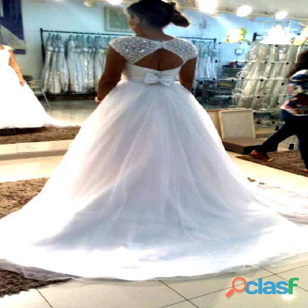 Vestido de noiva princesa ano 2018