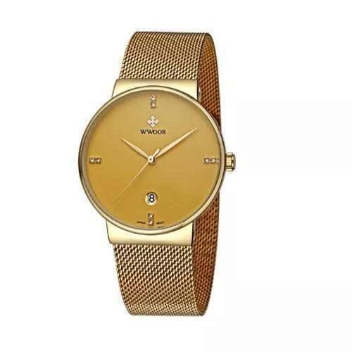 Relógio ultra fino wwoor original pronta entrega top
